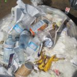 Waste Composition during a waste audit for a client